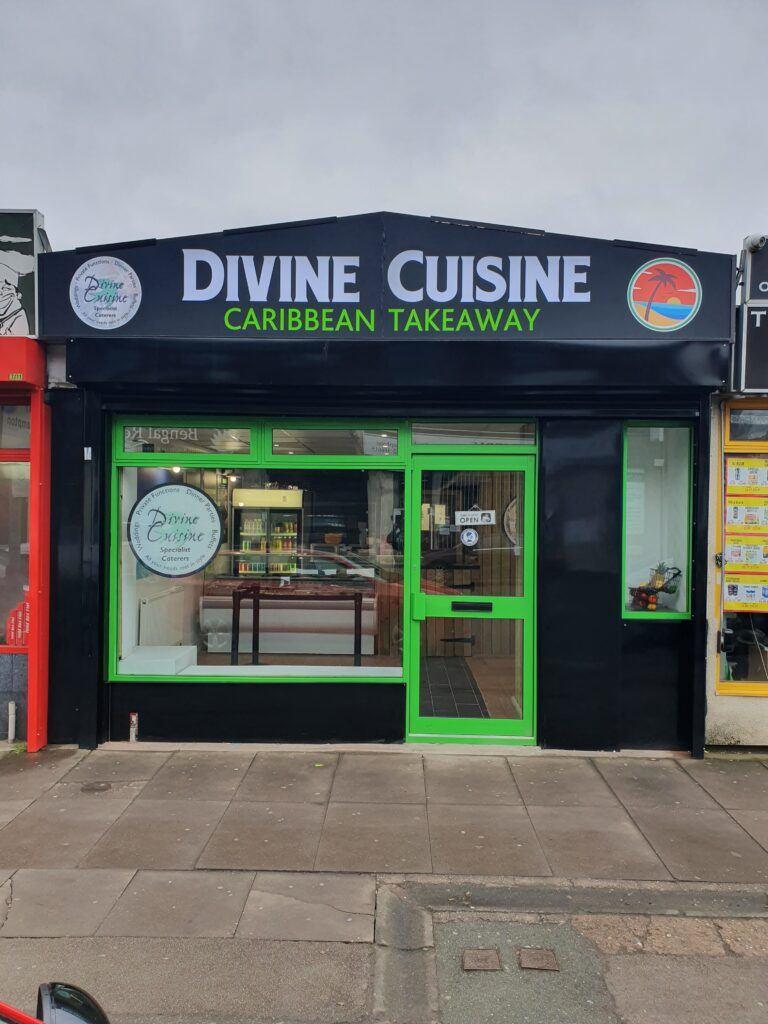 Divine Cuisine Caribbeam Takeaway